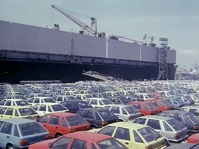 자동차수출과 주화수출