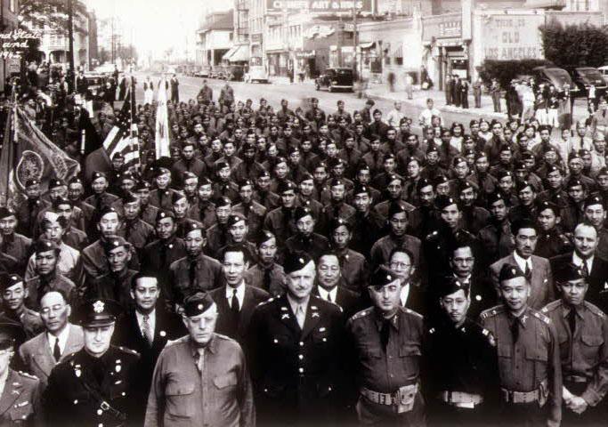 로스엔젤레스 한인국방경위대 창설 기념