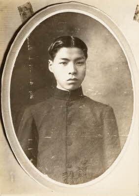 안재홍 학창시절