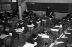 국립 철도고등학교 시험 광경