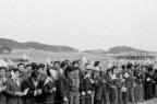 전두환대통령내외분 고리원자력7.8호 기공식 참석