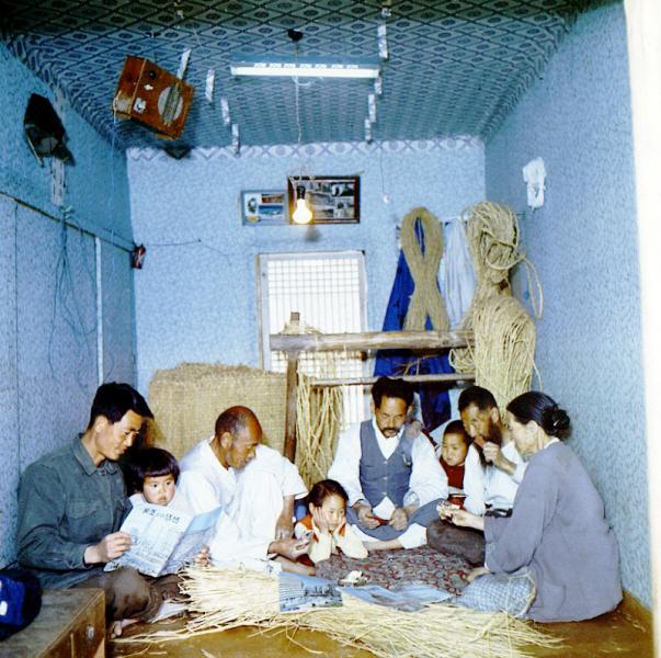 한국가정, 풍속