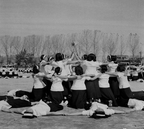남녀 중고등학생  체육대회