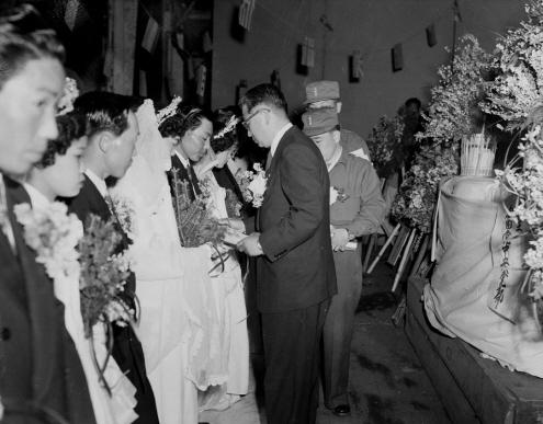 군경 합동결혼식