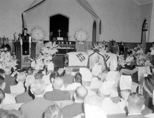 고 이승만 전대통령의 장례식