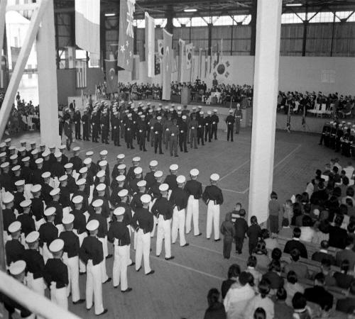 해군사관학교 졸업식