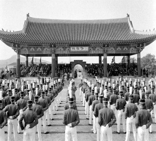 월남언론인 육군사관학교 졸업식 참관