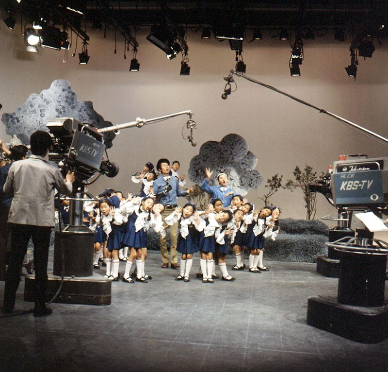 KBSTV 어린이꽃동산 녹화현장